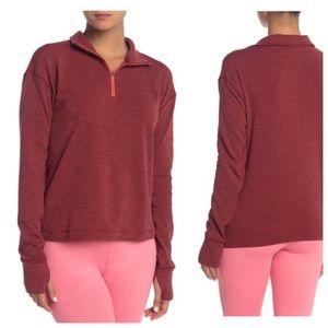 NWT Outdoor Voices OV Fleece Half Zip Pullover